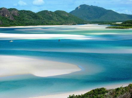 The Whitsunday Islands via Ester Inbar