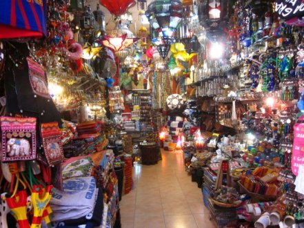 Souvenir Shop in Granada