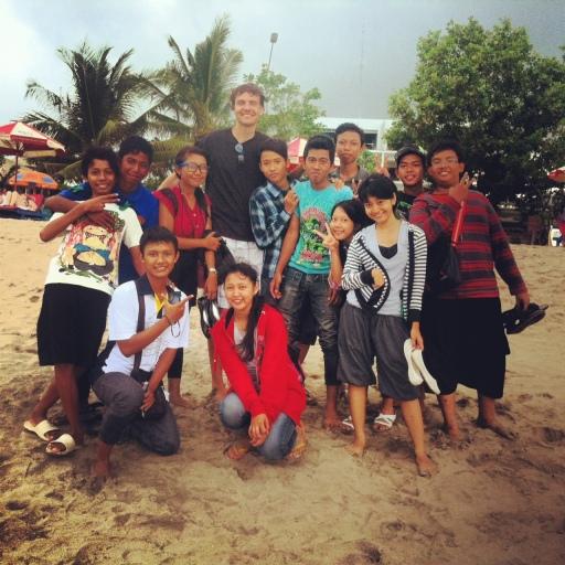 Kids in Bali
