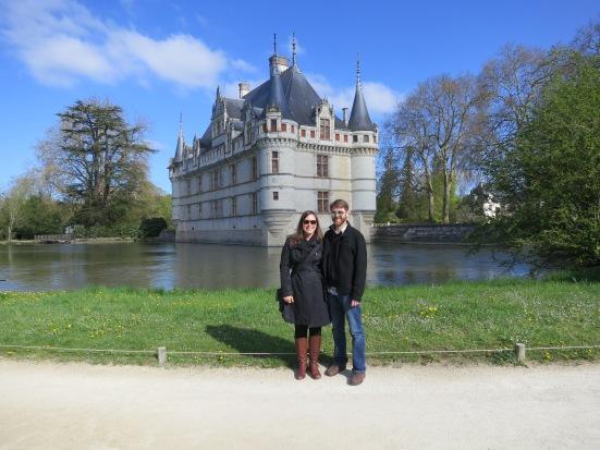 Loire chateau (Azay-le-Rideau)