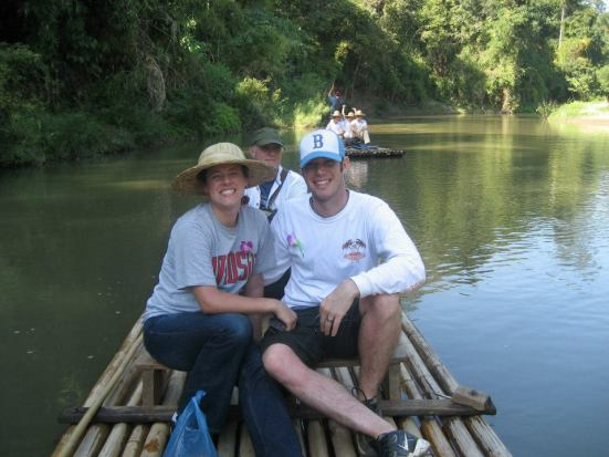 River rafting in Chiang Mai