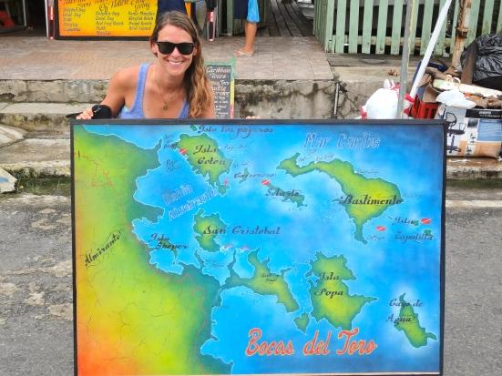 Bocas Map