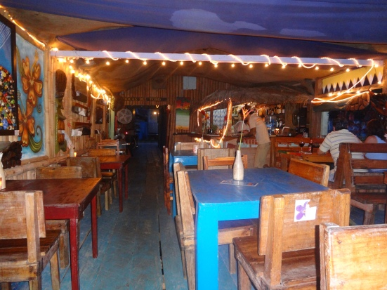 One of the very best restaurants in Bocas del Toro, almost empty