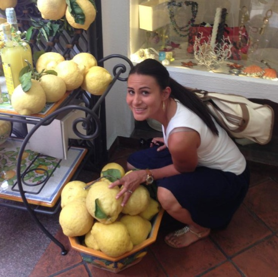 huge positano lemons