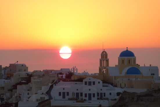 I had to include one more Santorini sunset - I couldn't help myself!