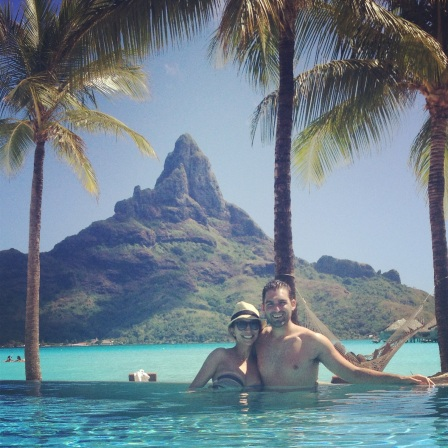 Tahiti honeymoon