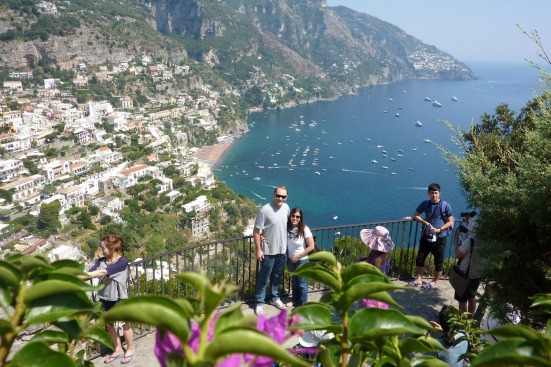 Positano honeymoon