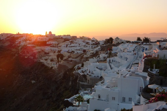 santorini sunset 1