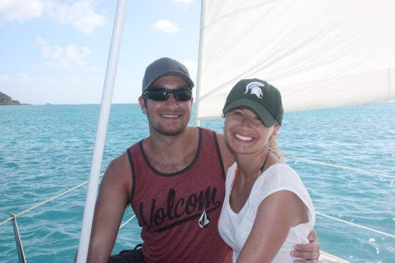 I had to put the MSU hat at the end of the blog post. Go Blue!