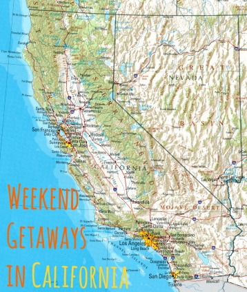 California getaways