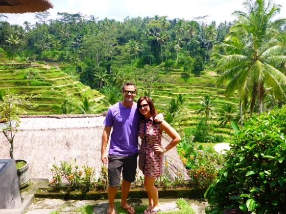 Justin and Amanda in Bali