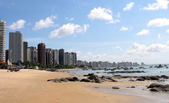 Praia do Mucuripe, Fortaleza: photo credit  Rafael Ramos and David Andrade