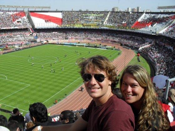 Boca Juniors v. River Plate at La Bombonera, Buenos Aires
