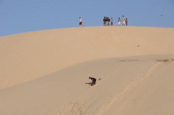 What sandboarding in Jericoacoara looks like: photo credit Stefano Liboni