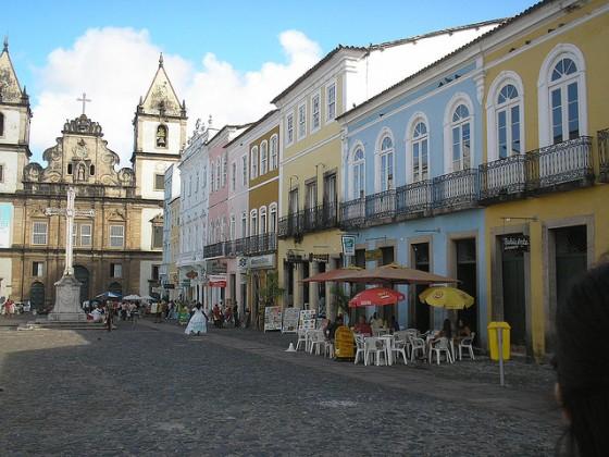 Pelourinho, Salvador: photo credit Tatiana Coutinho