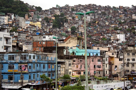 Favela da Rocinha: photo credit Scott Hadfield