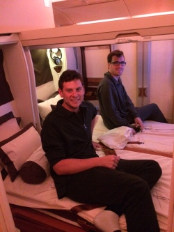 first class honeymoon