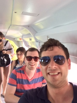 airplane selfie 2