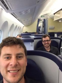 airplane selfie 1