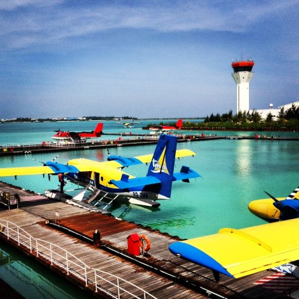 Maldives - sea plane airport