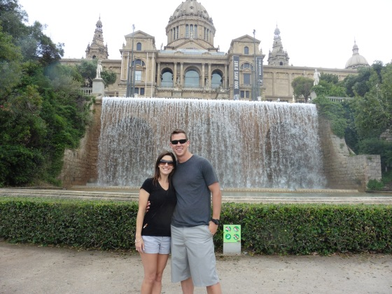 barcelona honeymoon