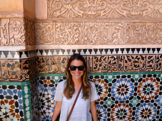 Beautiful tile work everywhere