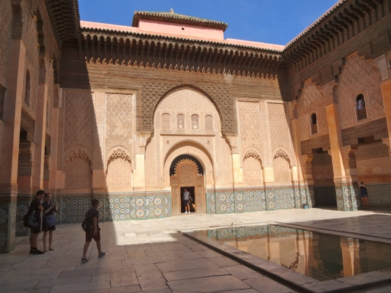 Courtyard of Ali Ben Youssef Madrasa