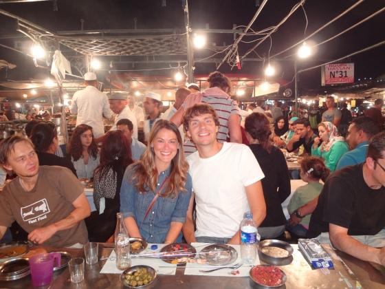 Braving the Marrakech street food