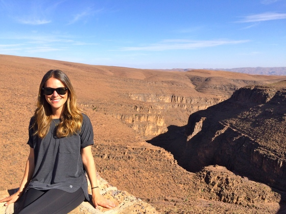 Oh look, a massive canyon in the middle of Morocco