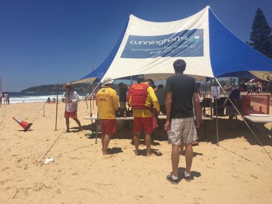 Lifeguard, lifeguard, lifeguard, Aaron!