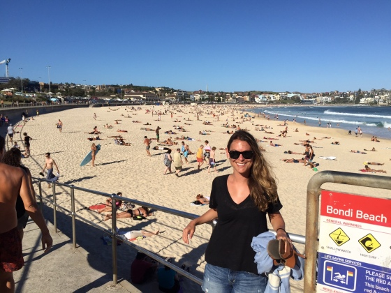 Bondi Beach time!