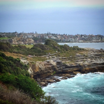 The gorgeous Coogee coastline