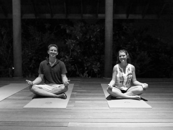 yoga in paradise