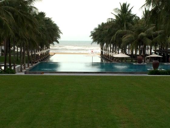 Nam Hai resort in Vietnam